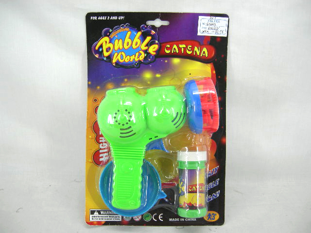 B/O BUBBLE GUN WITH MUSIC