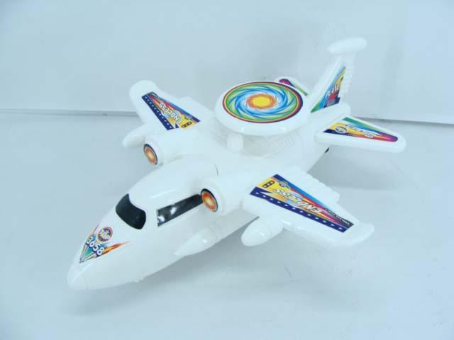 实色拉线飞机