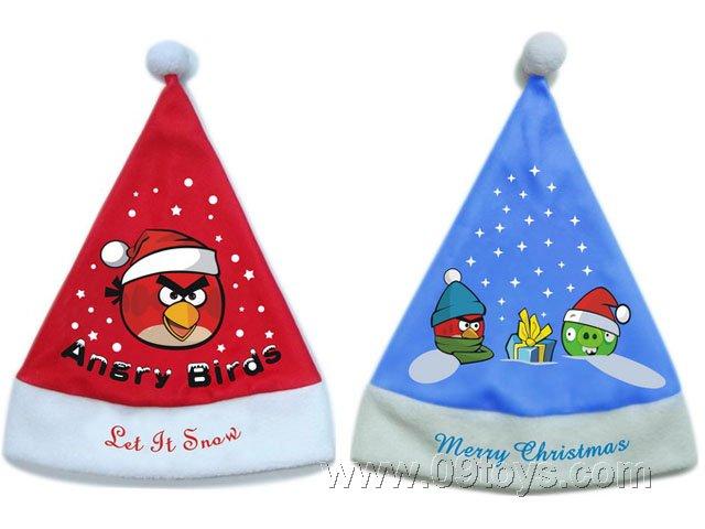 愤怒的小鸟圣诞帽 6PCS
