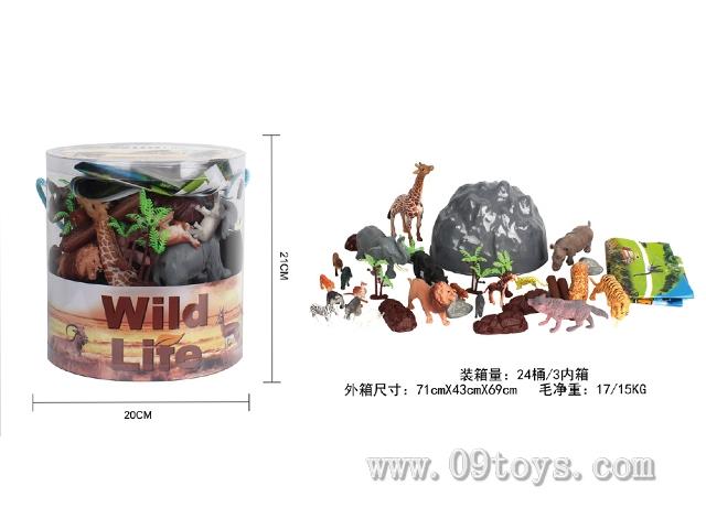 野生桶装(34PCS/PDQ)