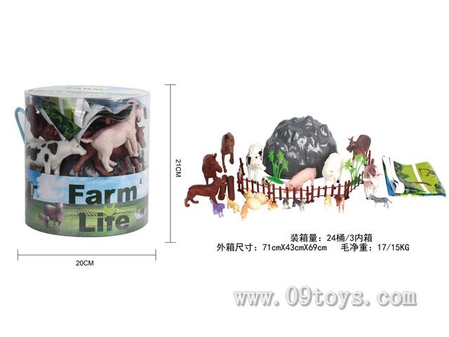 农场桶装(34PCS/PDQ)