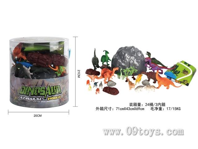 恐龙桶装(34PCS/PDQ)