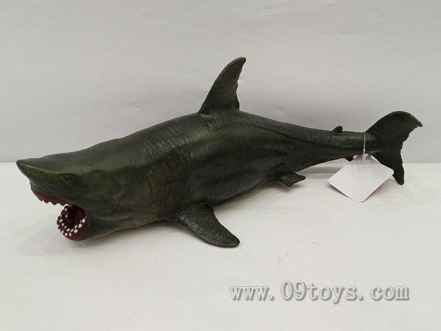 远古巨齿鲨