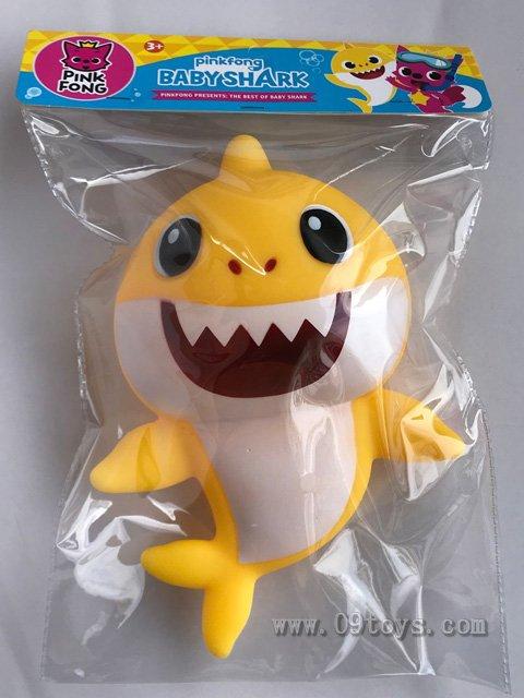 鲨鱼宝宝带灯光音乐