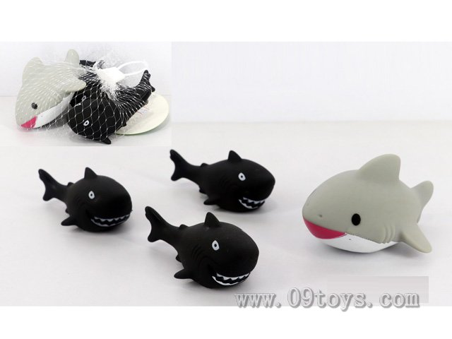 喷水鱼+BB叫小鱼4只装
