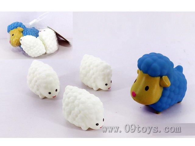 喷水绵羊+BB叫绵羊4只装
