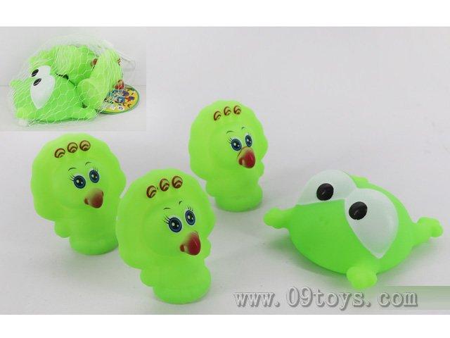 喷水青蛙+BB叫动物4只装