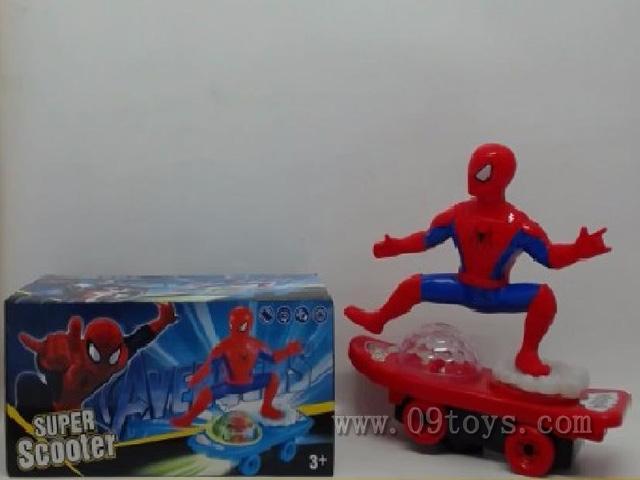 电动万向滑板车(英雄联盟)  蜘蛛侠