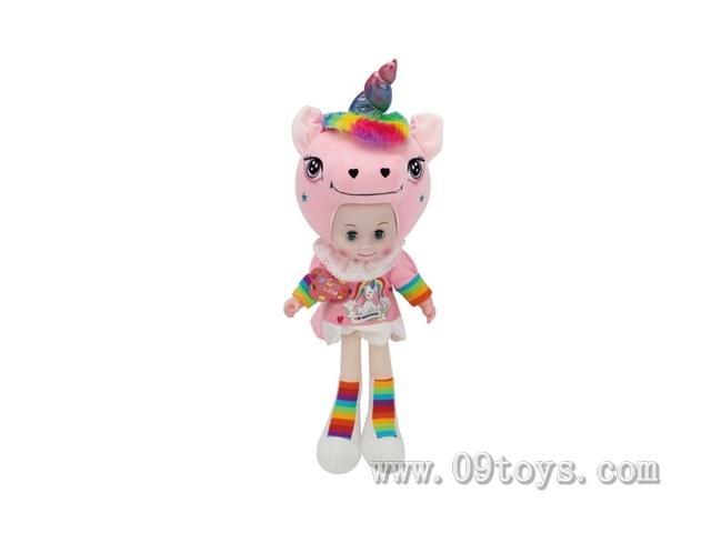 20寸粉红独角兽娃娃
