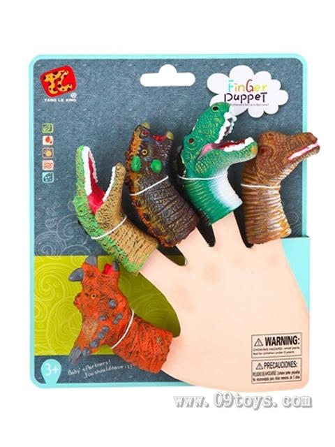恐龙手指偶