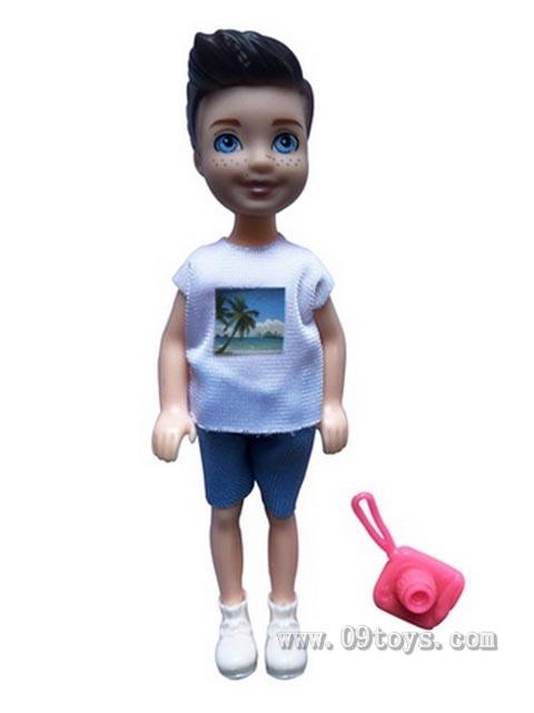 新款6寸实身凯莉男孩娃娃带相机系列