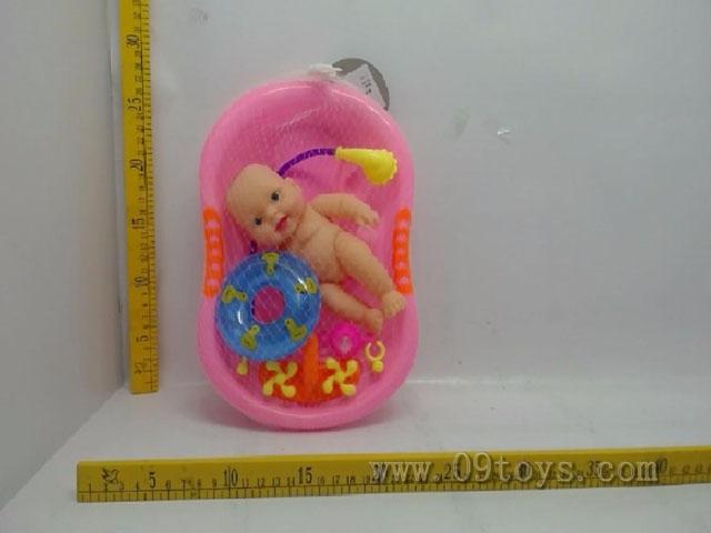 8寸多款表情娃娃浴盆款带喷头