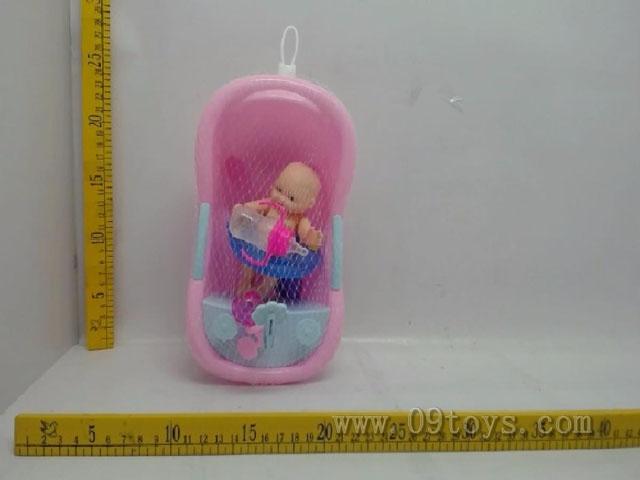6寸多款表情娃娃浴盆款带喷头