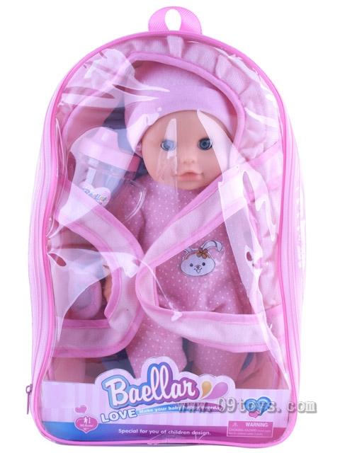 12寸背包娃娃