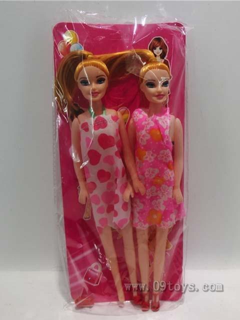 十一寸美少女双人装