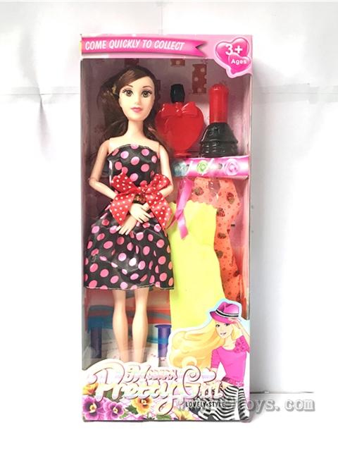 11寸大脚9关节芭比娃娃