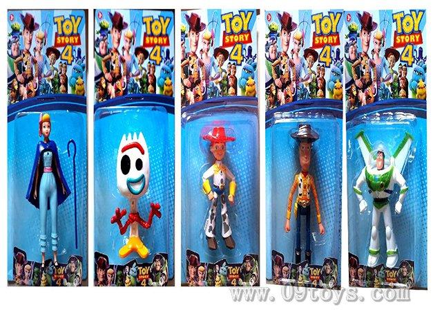 4.5-6寸玩具总动员单只装 5款