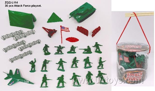 军事组合30PCS