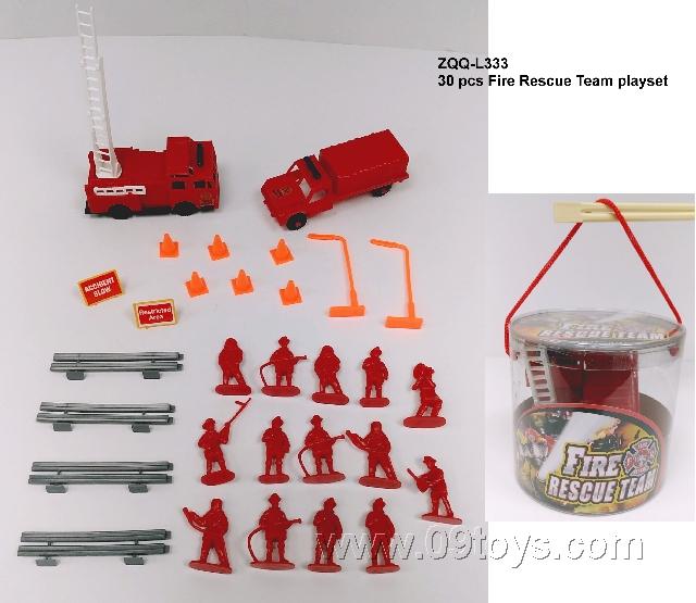 消防组合  30PCS