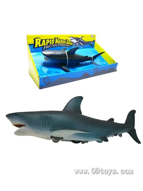 惯性极速海洋动物-蓝鲨