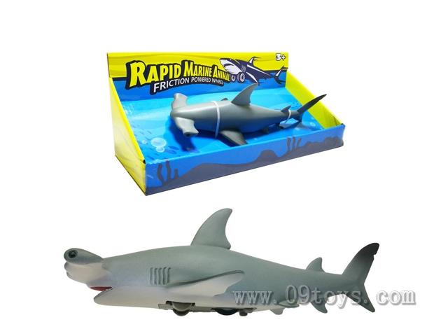 惯性极速海洋动物-锤头鲨