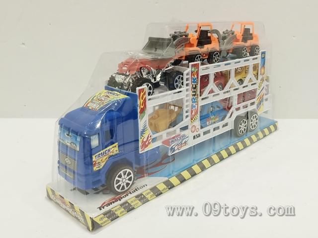 实色喷头拖车