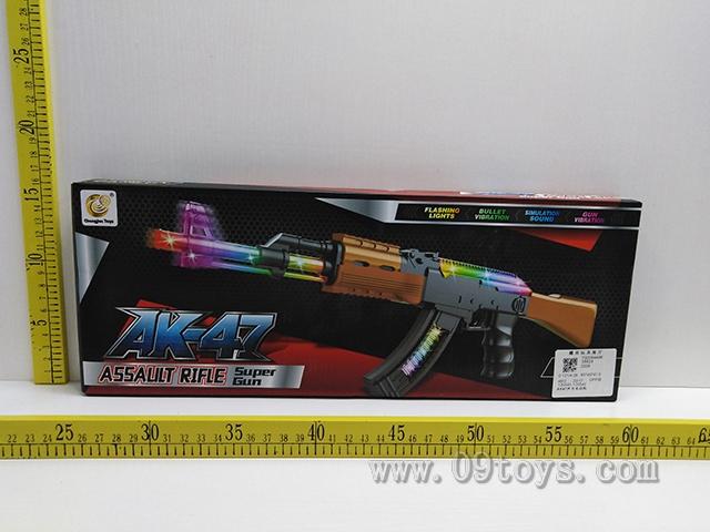 AK47声光电动枪