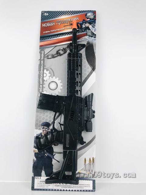 俄文大冲锋火石枪+瞄准器