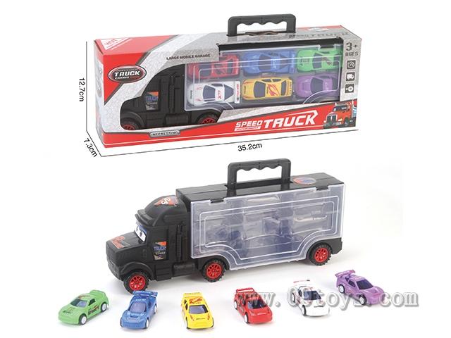 手提滑行货柜车
