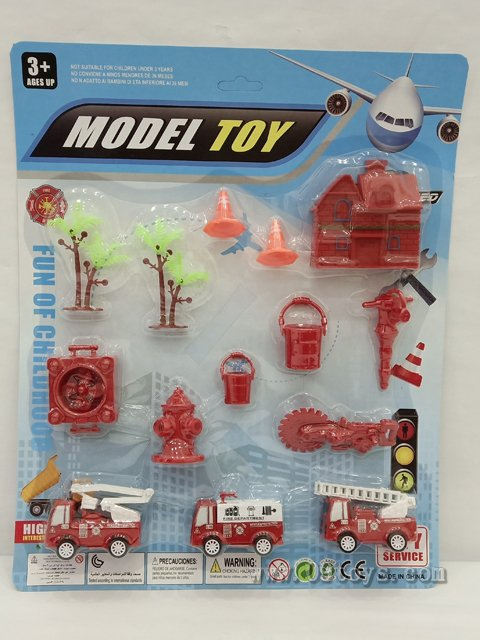 滑行消防车(红色)