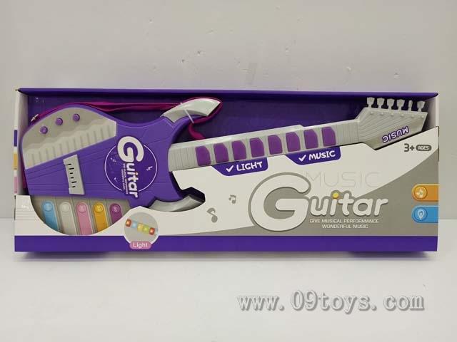 灯光音乐电 子吉它