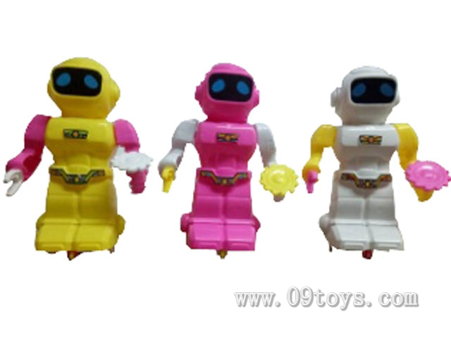 拉线灯光机器人