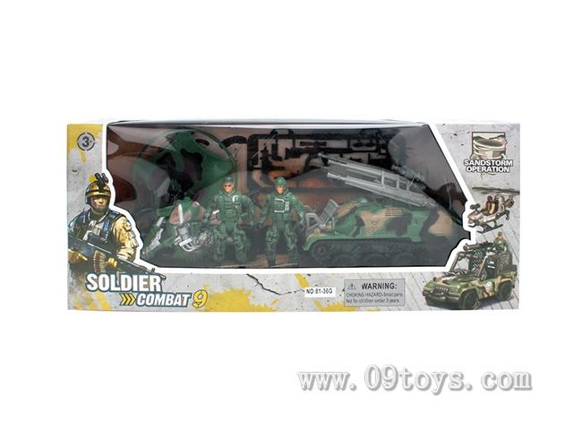 士兵战争特种部队套装