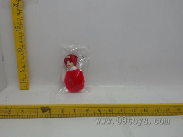 10cm芭芘娃娃钥匙扣