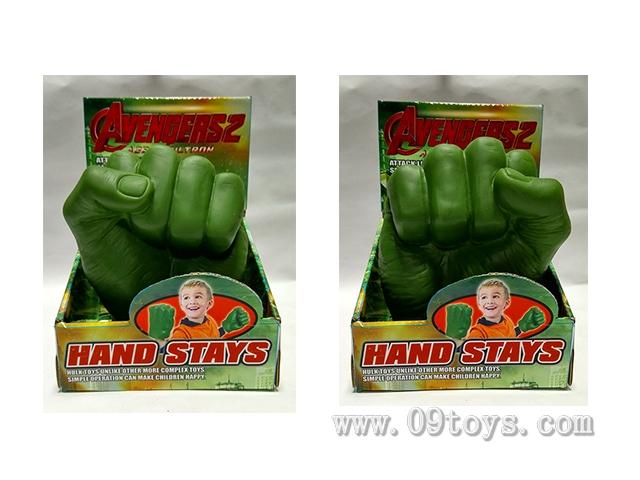 绿巨人手手偶(左右手混装)
