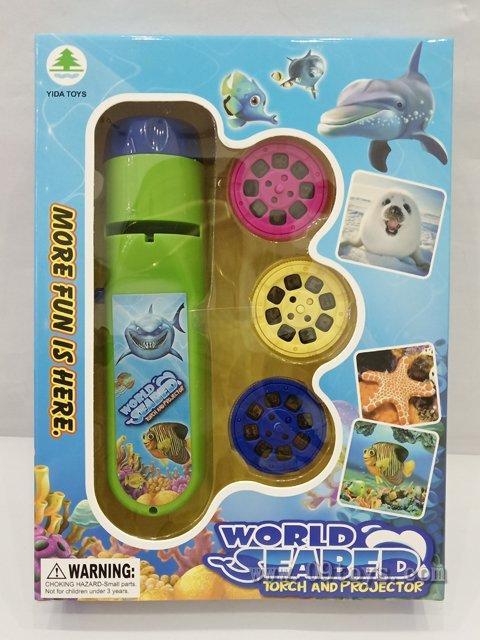 海洋投影手电筒