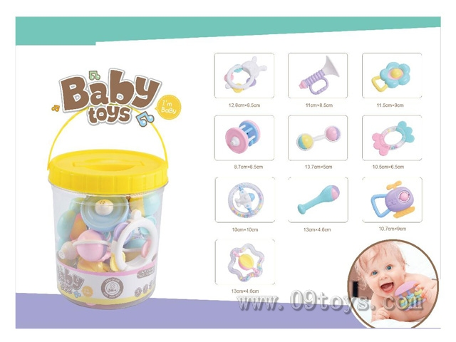 婴儿摇铃套装(10只装)