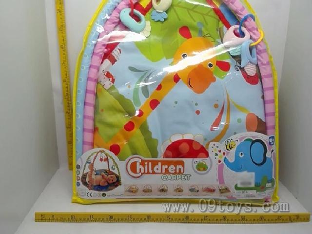 婴儿健身架游戏毯(萌象)
