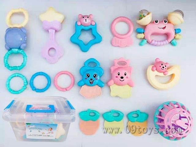 婴儿摇铃玩具15pcs