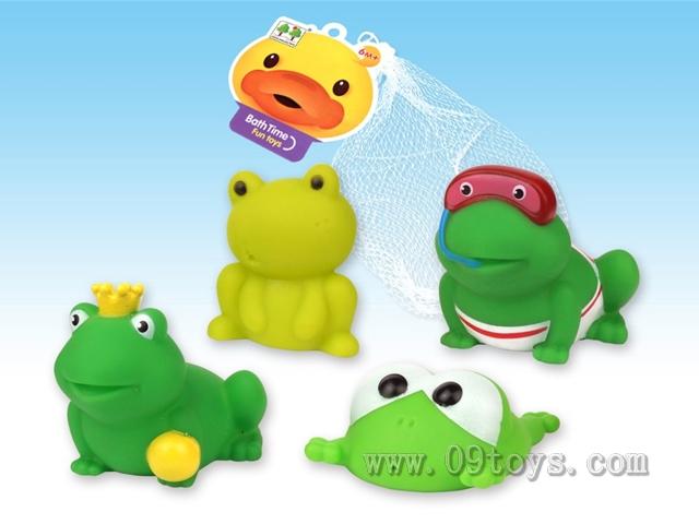 4款搪胶青蛙
