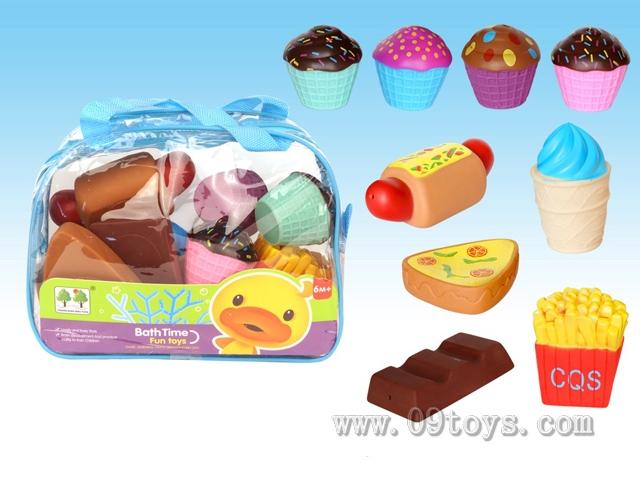 9只喷水玩具