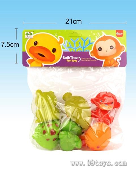 6只喷水玩具