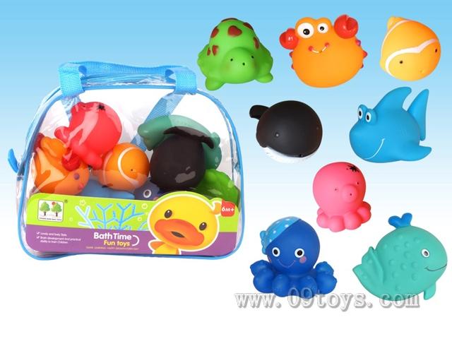8只喷水玩具