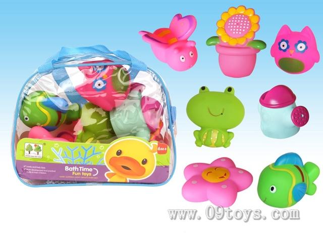 7只喷水玩具