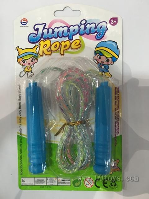 绑板棉线跳绳