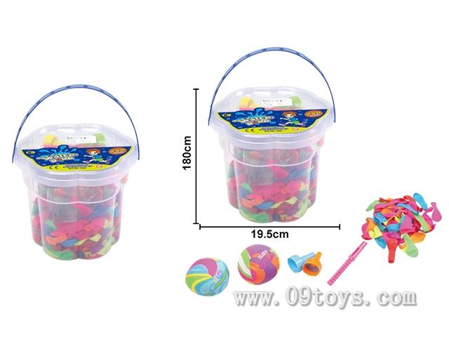 水气球沙滩桶