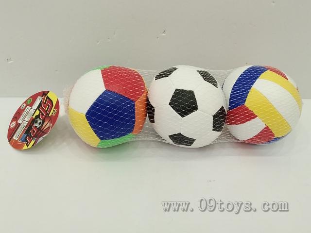 4寸3粒球