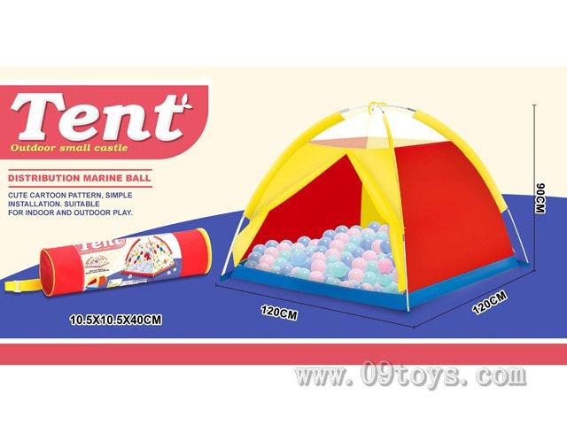 沙滩玩具色布帐篷