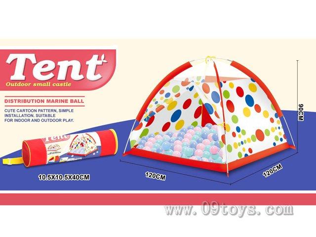 沙滩玩具花点帐篷