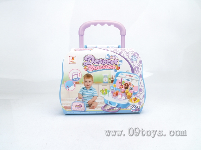 糖果行李箱